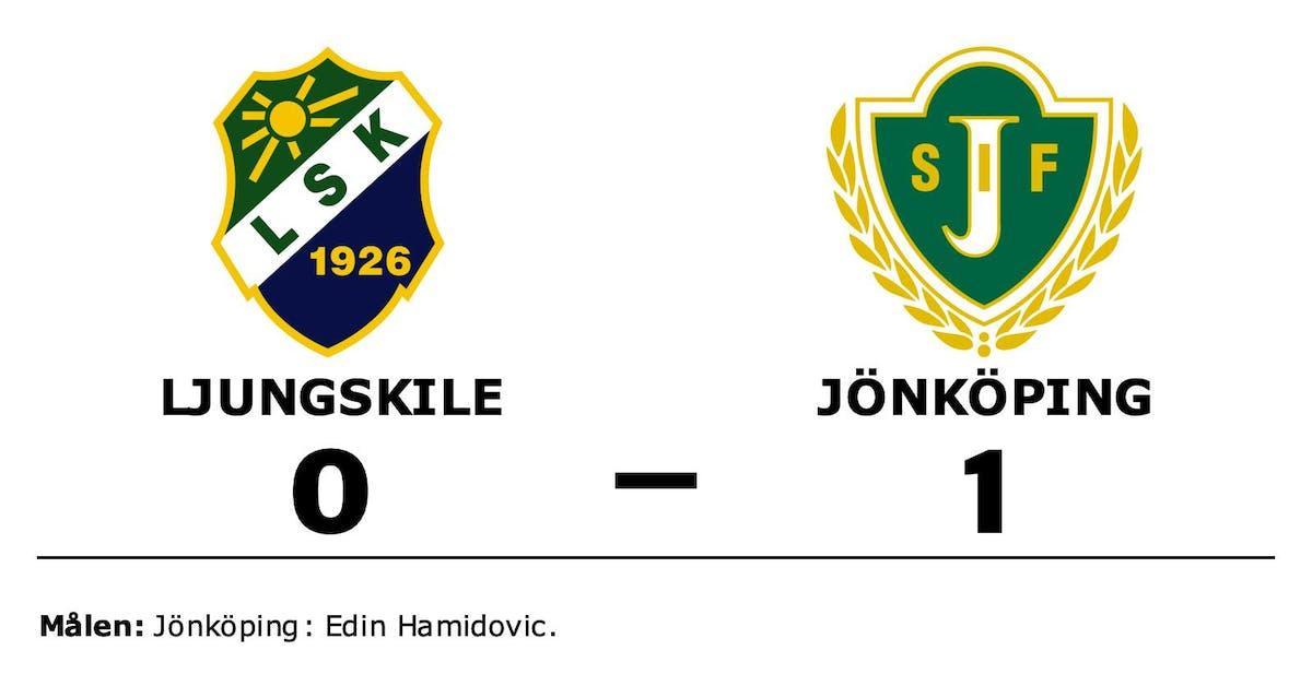 Jönköpings seger spiken i kistan för Ljungskile – som åker ur serien