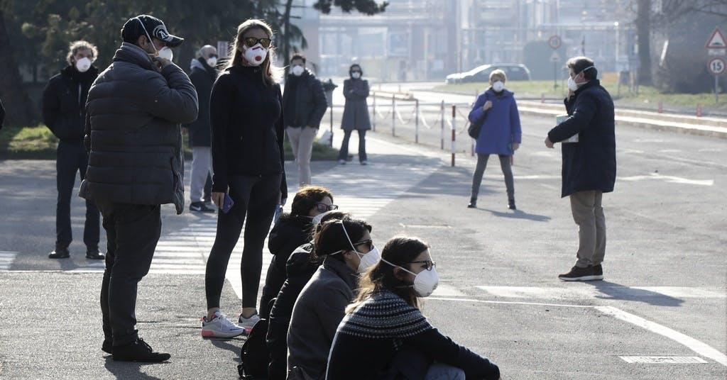 """Oron efter utbrotten: """"Så pandemier beter sig"""""""