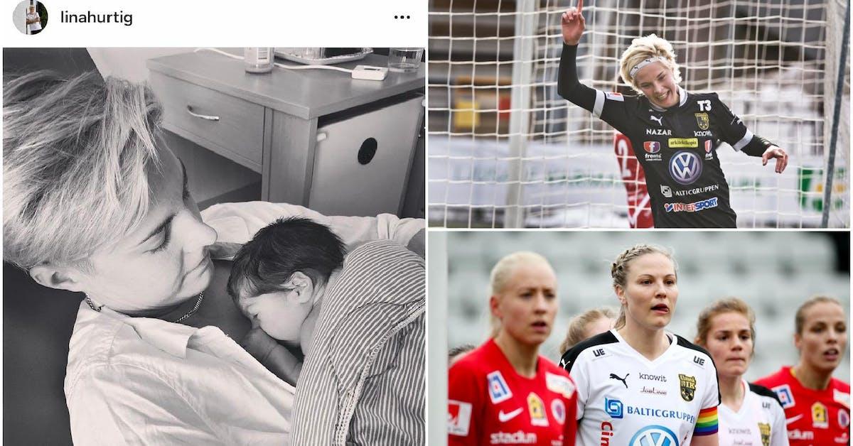 Förra Umeå IK-spelarnas bebislycka