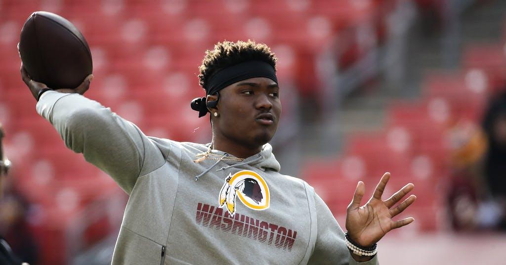 Washingtons NFL-lag byter namn efter kritik