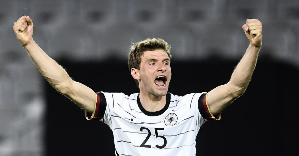 Tyskland krossade Lettland i EM-genrepet