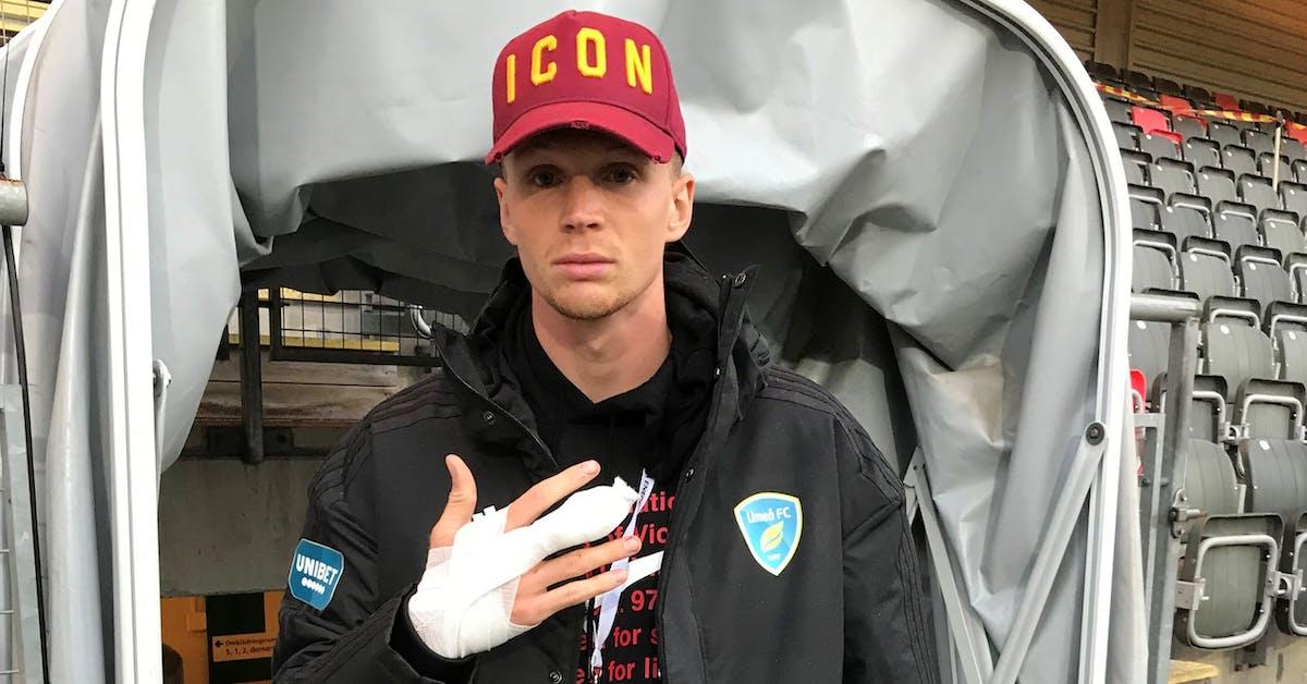 """Umeå FC-spelarens otäcka avokado-olycka: """"Blodet sprutade över hela köket"""""""