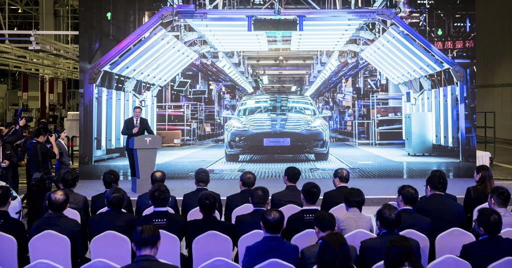 Tesla ansöker om koboltfritt i Kina