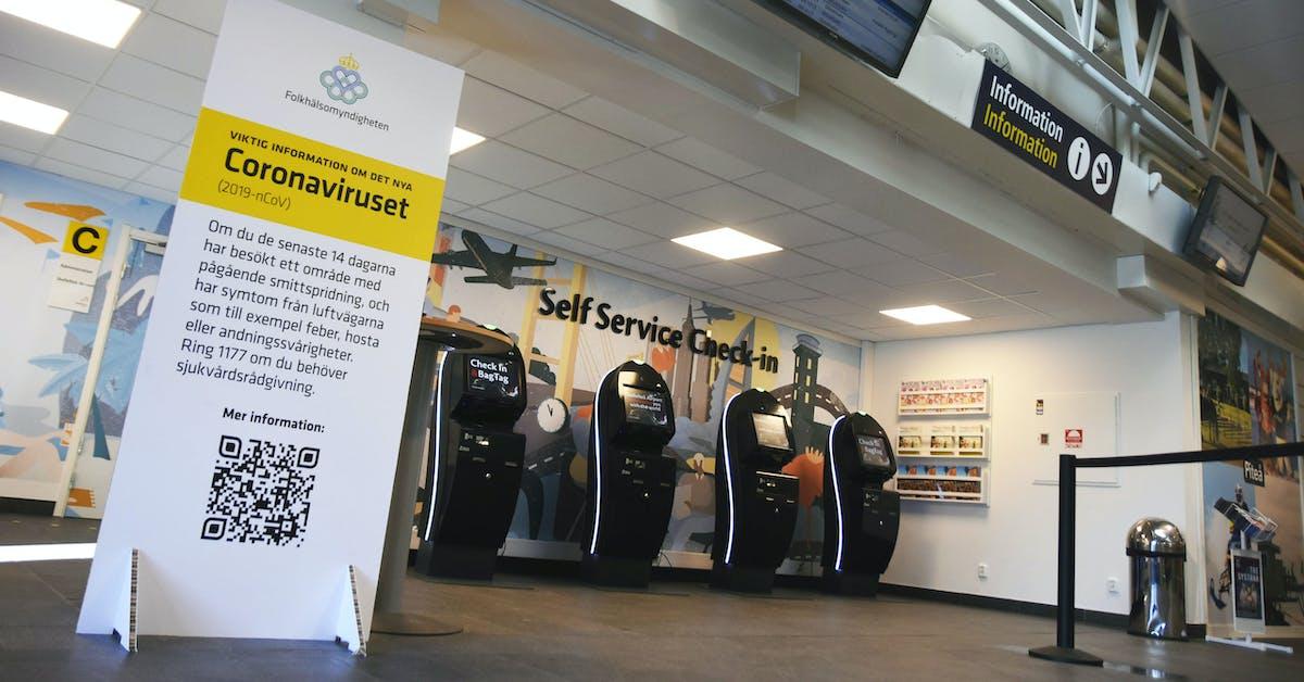 Alla anställda på Skellefteå Airport korttidspermitteras