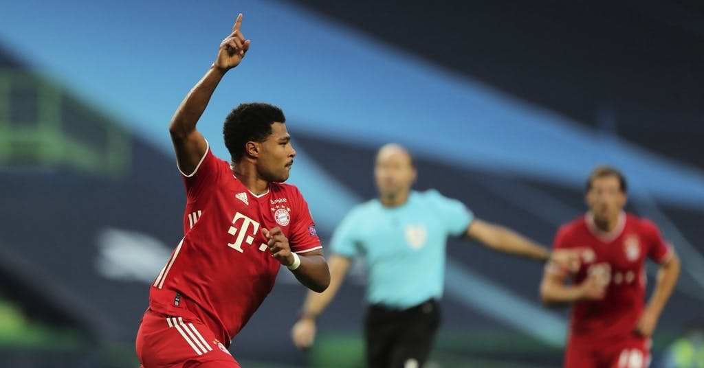 Gnabry tog Bayern till CL-final