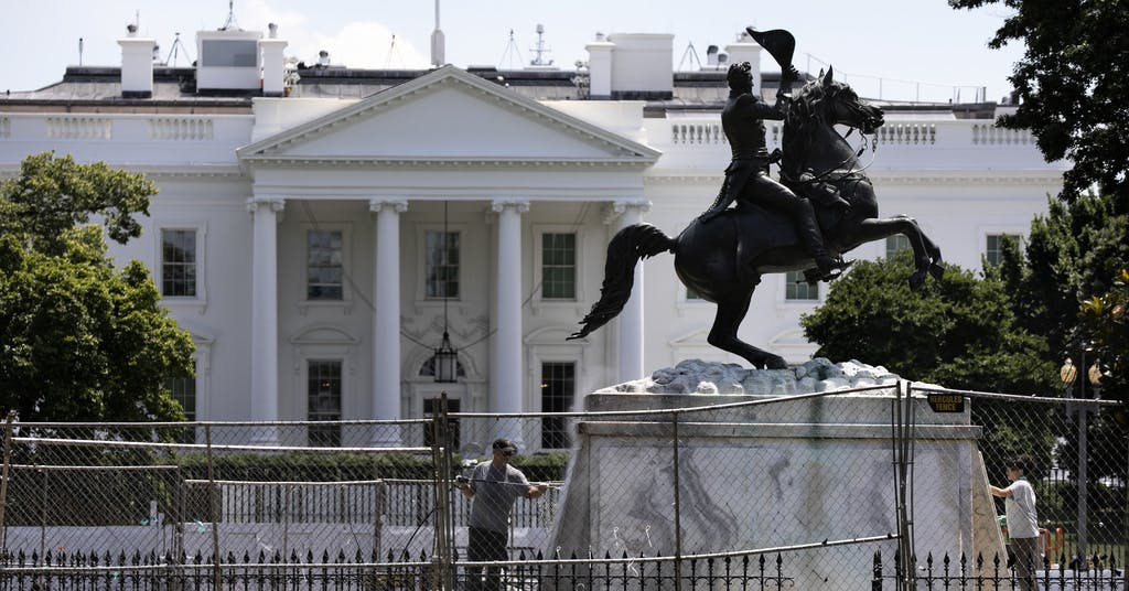 Ny grupp ska skydda statyer i USA