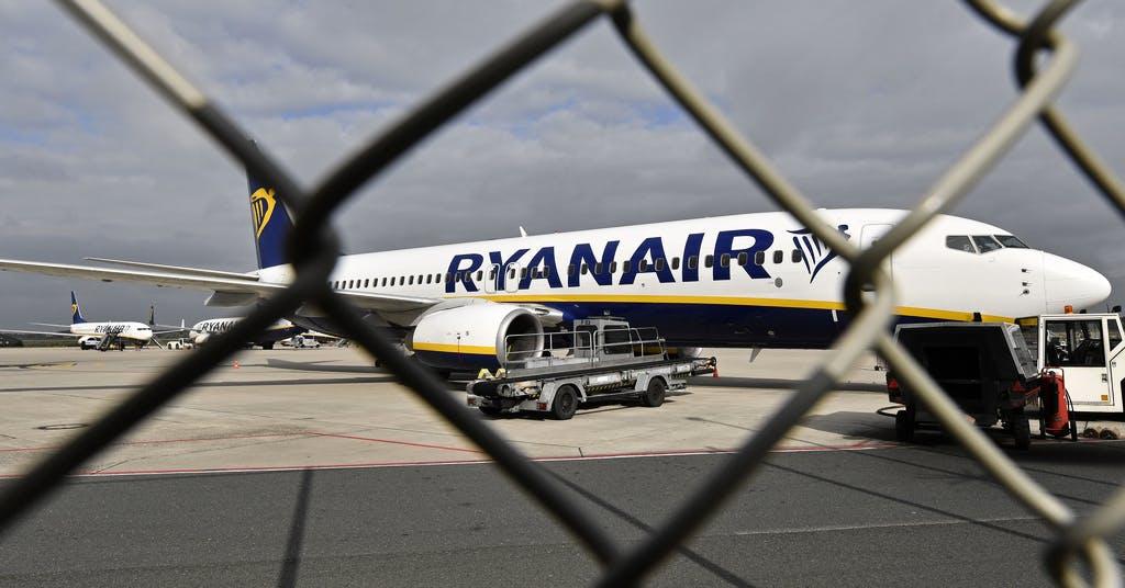 Ryanair drar ned på kapaciteten