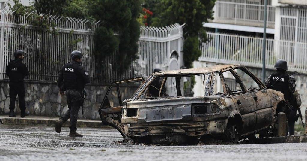 Polisen i dödligt krig mot gängen i Caracas