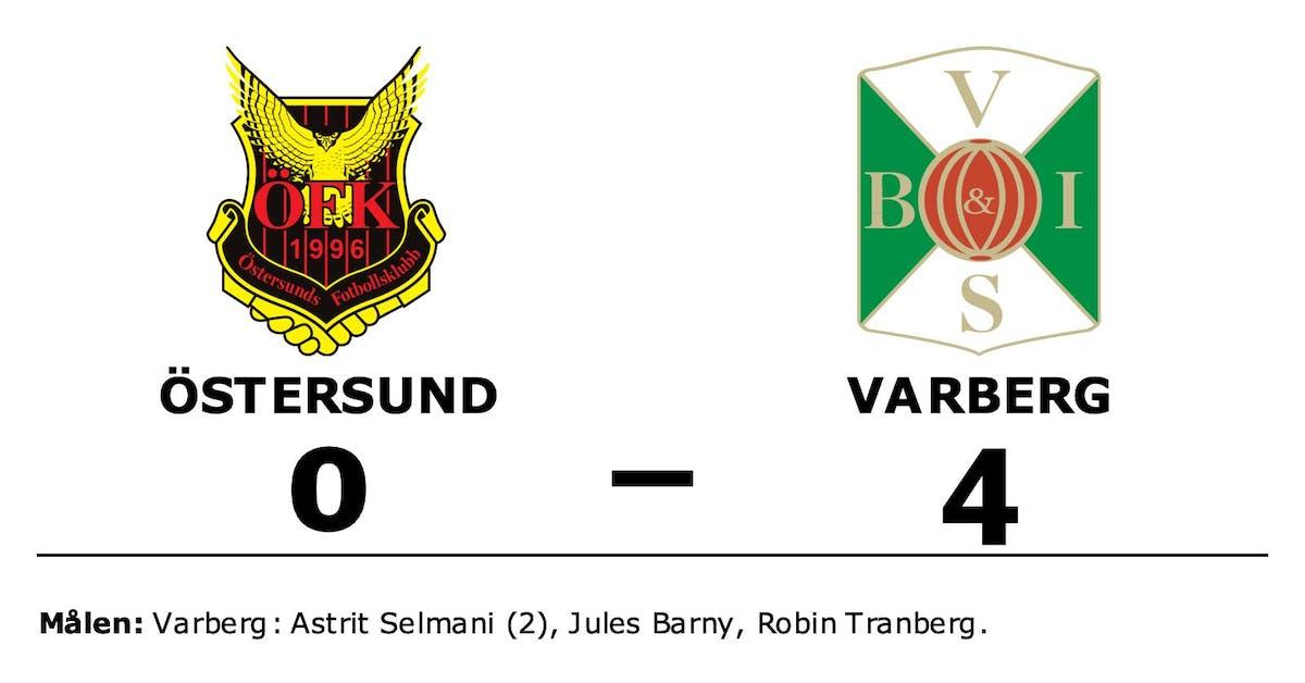 Östersund föll hemma mot Varberg