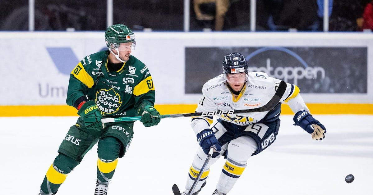 Björklöven blir första lag att knäcka HV71