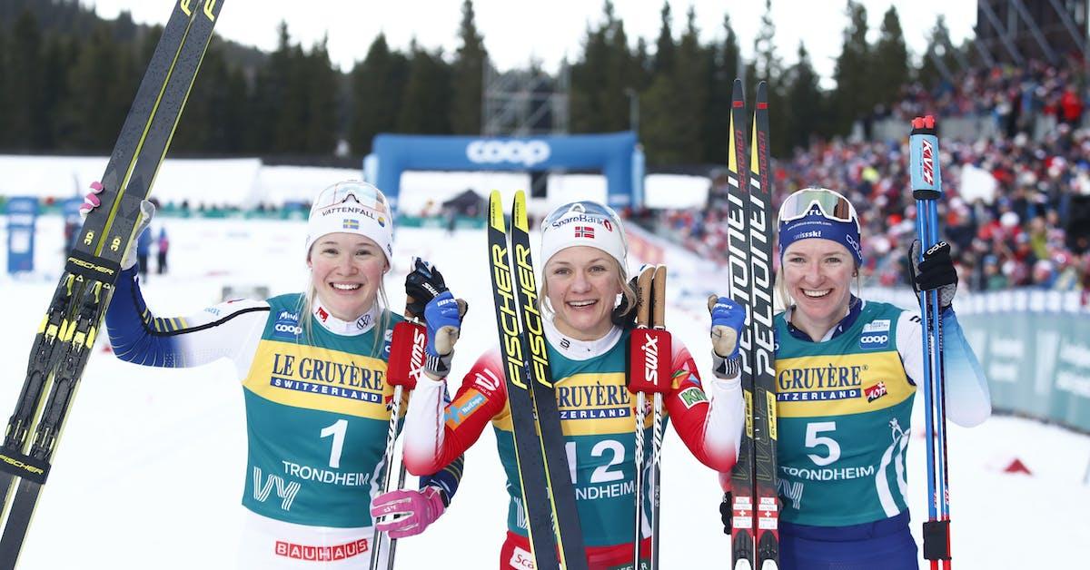 Jonna Sundling tvåa i sprinten