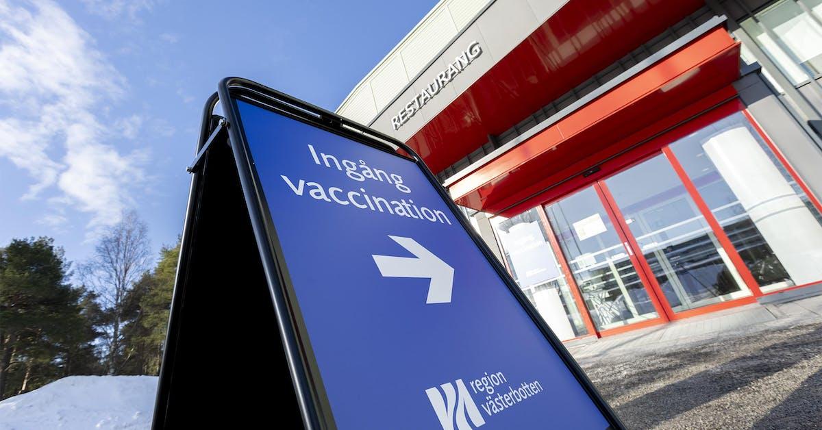 Nu återupptas Astra-vaccinationerna i länet