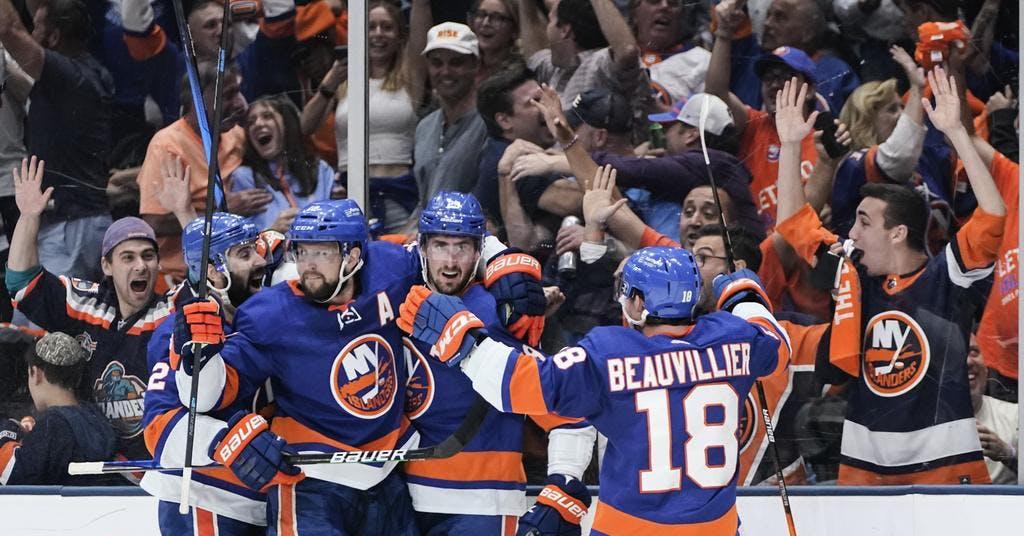Islanders har slagit ut Boston i Stanley Cup