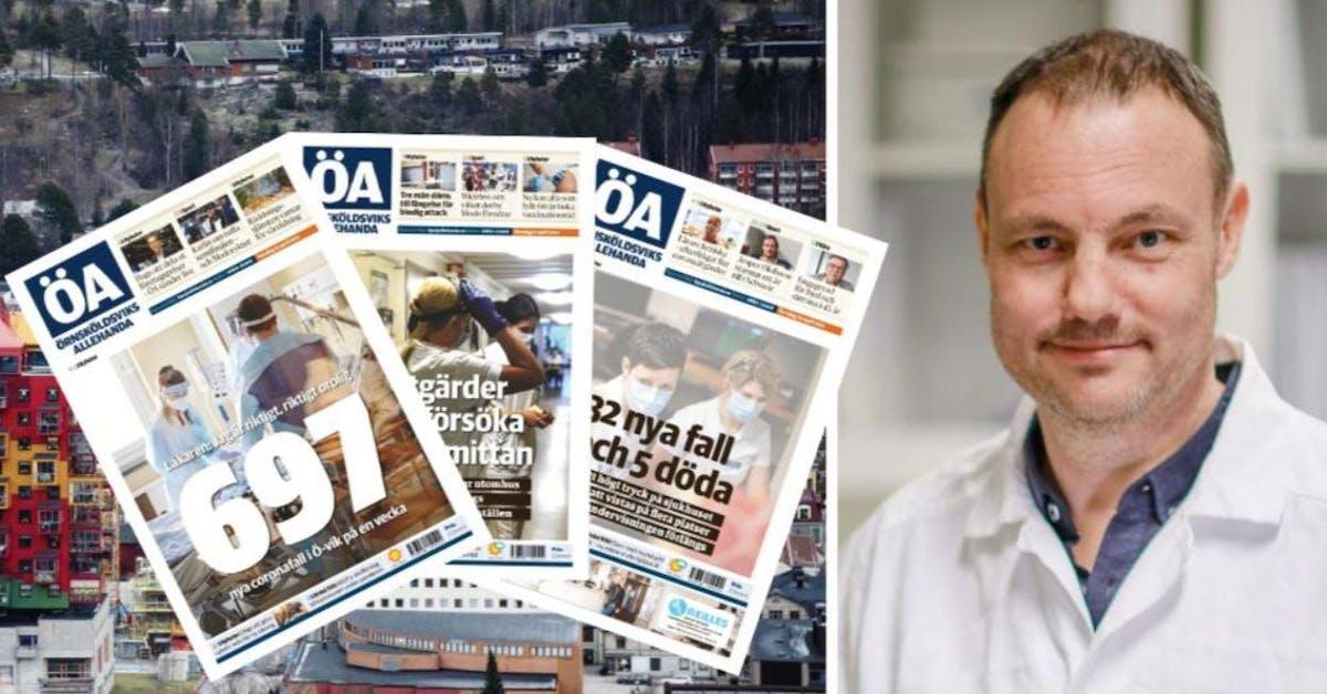 Ö-vik blev värst i Sverige: Umeåprofessorns teori om enorma spridningen