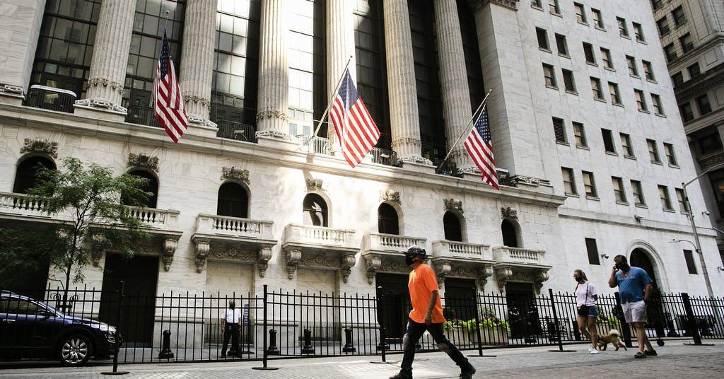 Teknikjättar tyngde Nasdaq – Dow Jones upp