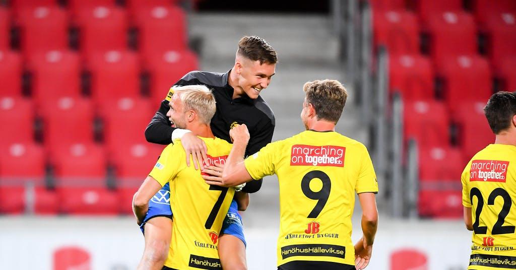"""Mjällby avgjorde sent: """"Mycket konstig match"""""""