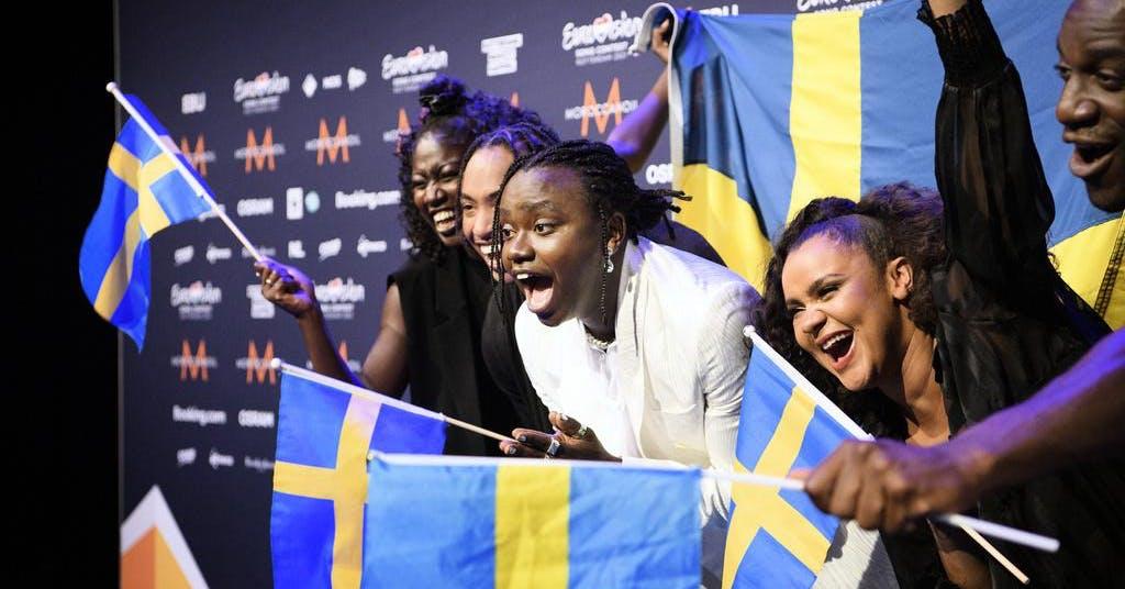 """Sverige – """"hjälten i Eurovision"""""""