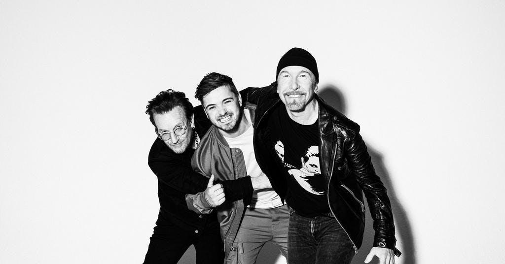 Garrix, Bono och The Edge släpper EM-låt