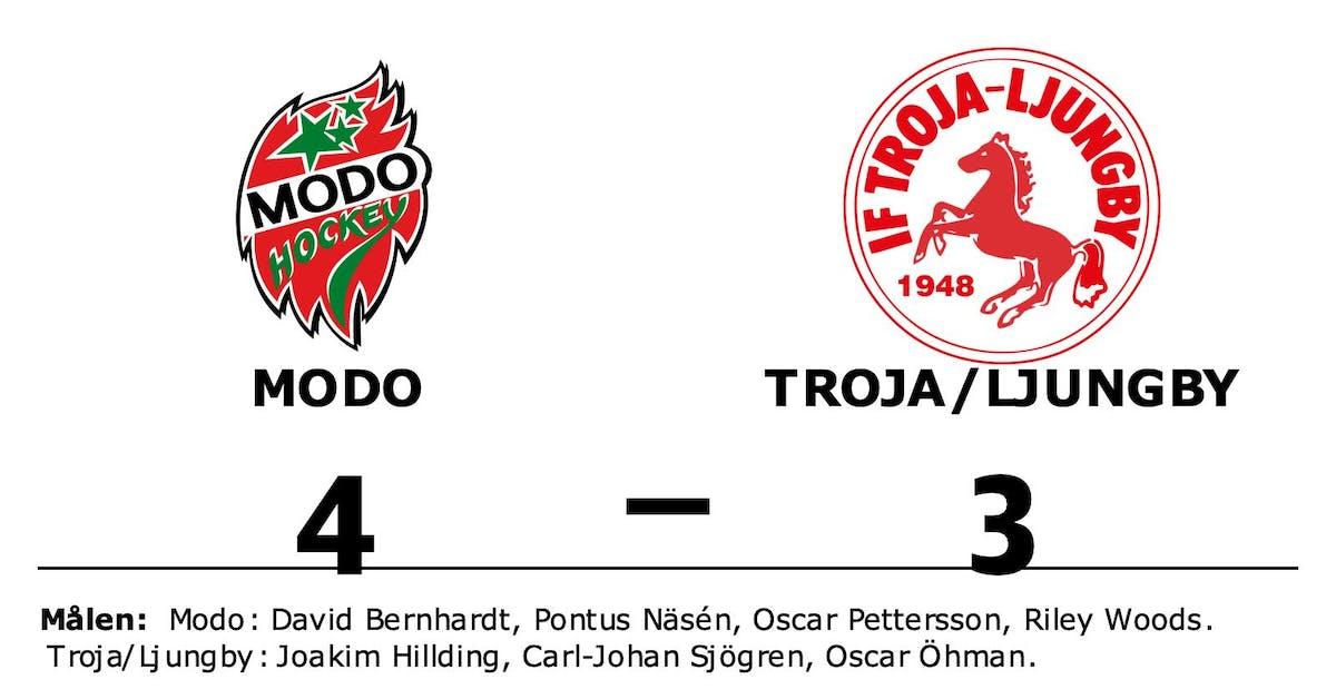 Modo vann i förlängningen mot Troja/Ljungby