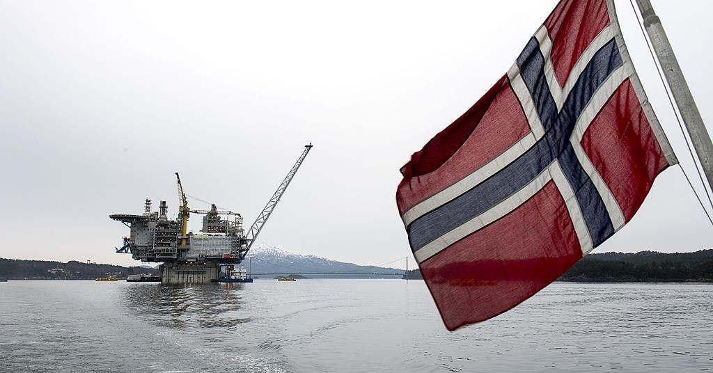 Norsk gasexport hotas av strejk