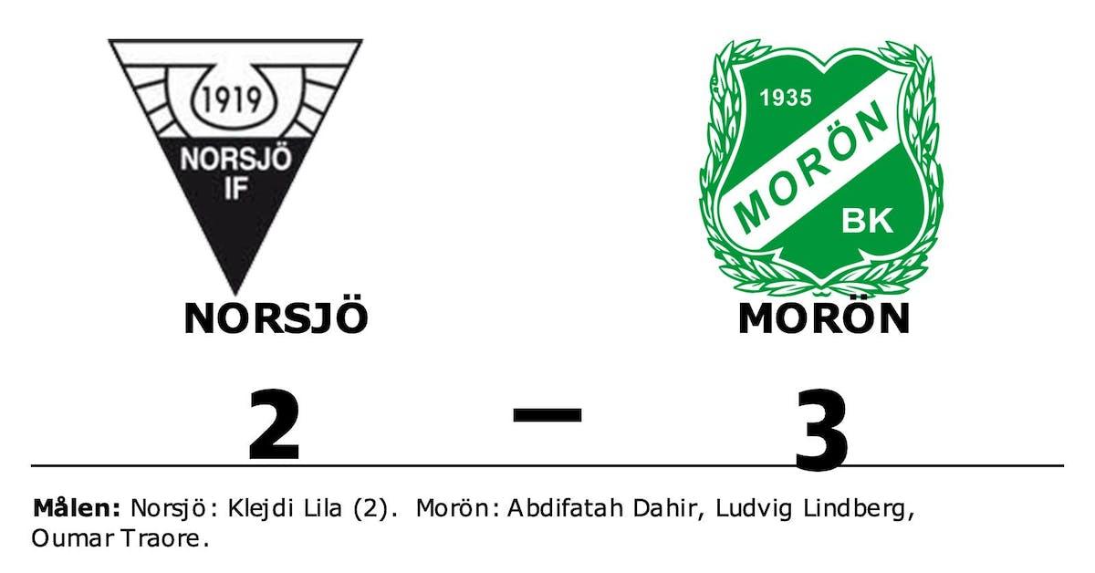 Morön slog Norsjö med uddamålet