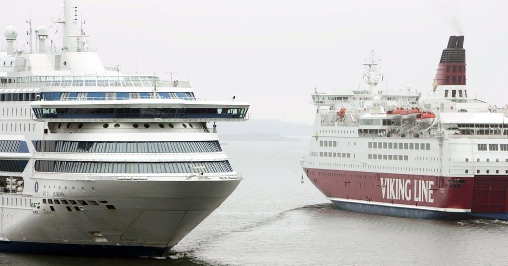 Viking Line återupptar frakttrafik