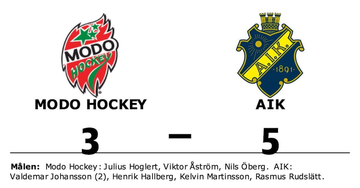 Modo Hockey tar emot AIK
