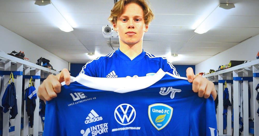 Talangen får A-lagskontrakt av Umeå FC