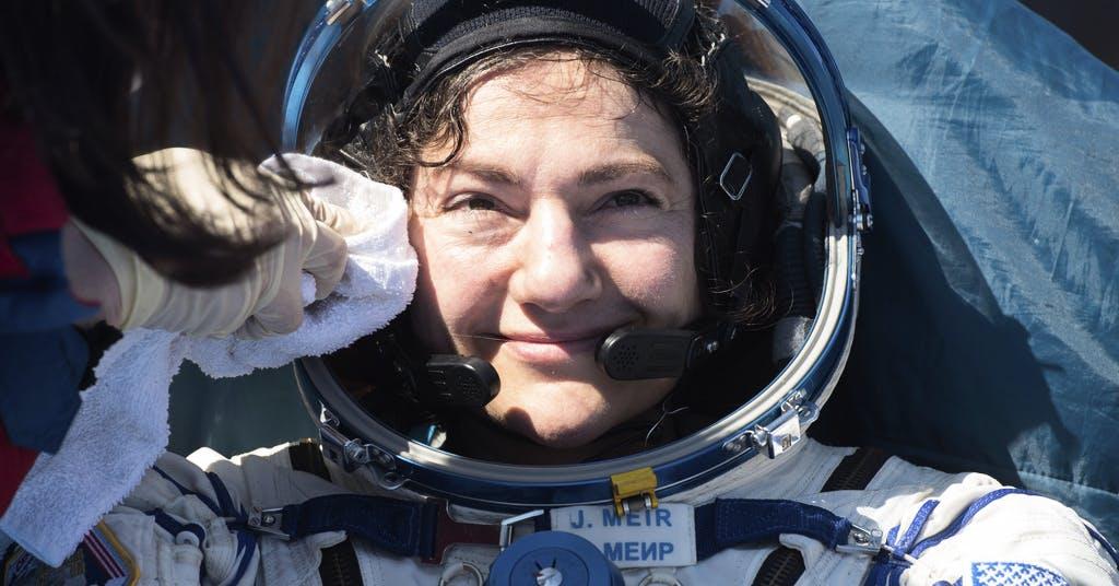 Rymdfarare Jessica Meir siktar på månen