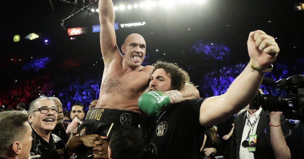 Fury knockade världsmästaren