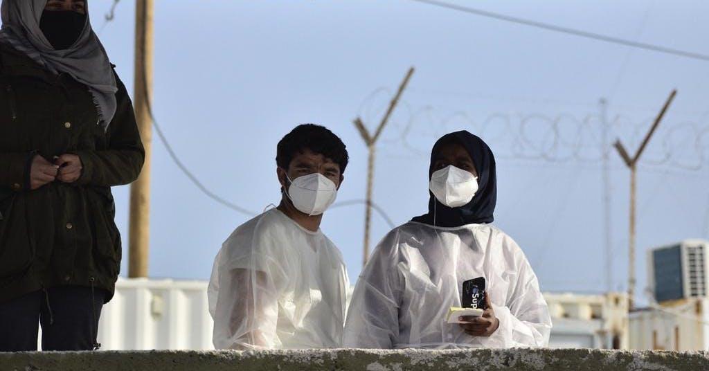 Färre asylansökningar i EU under pandemiåret
