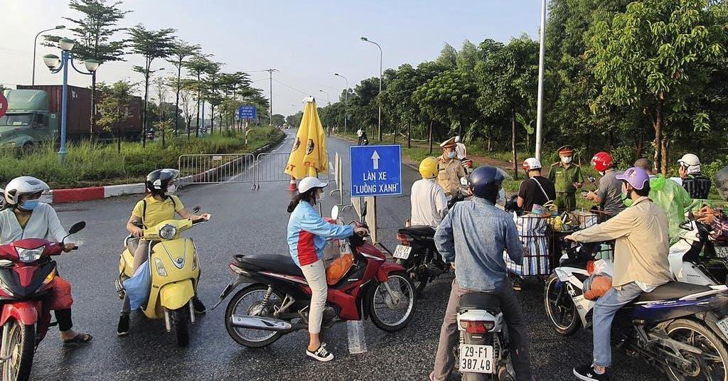Hanoi stänger ner efter virusrekord