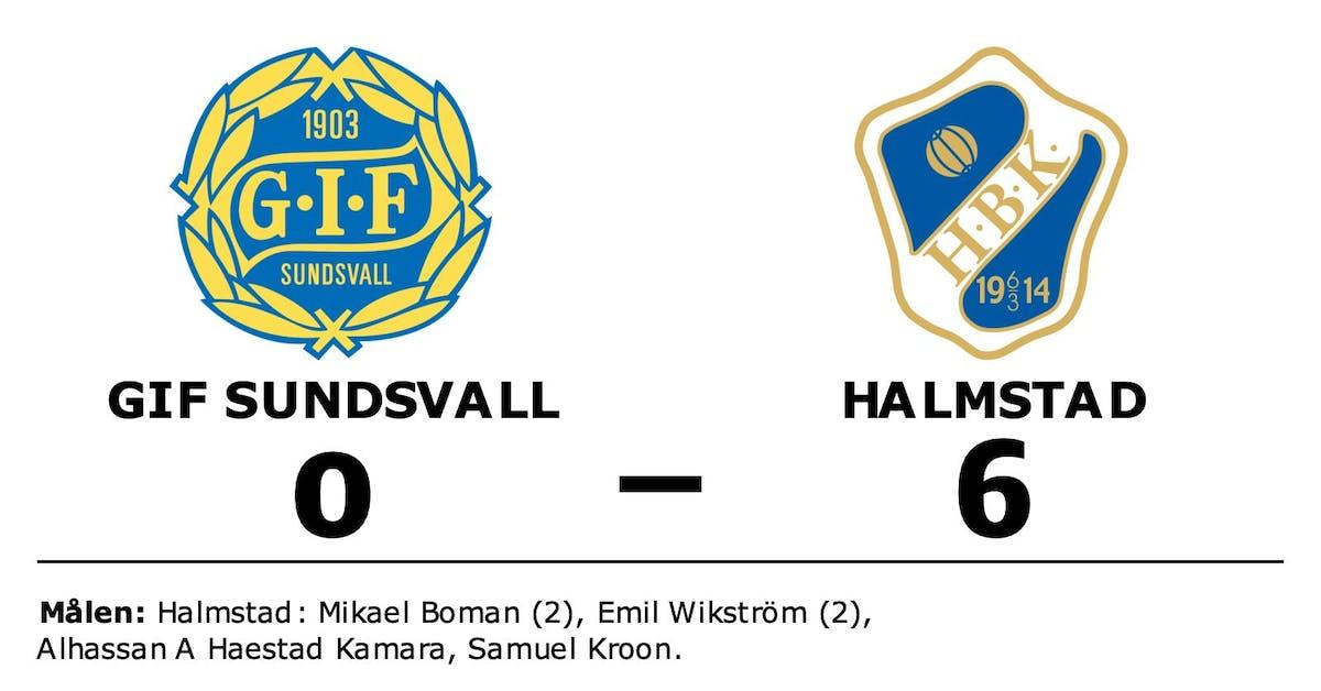 Seger gör att Halmstad är klart för Allsvenskan