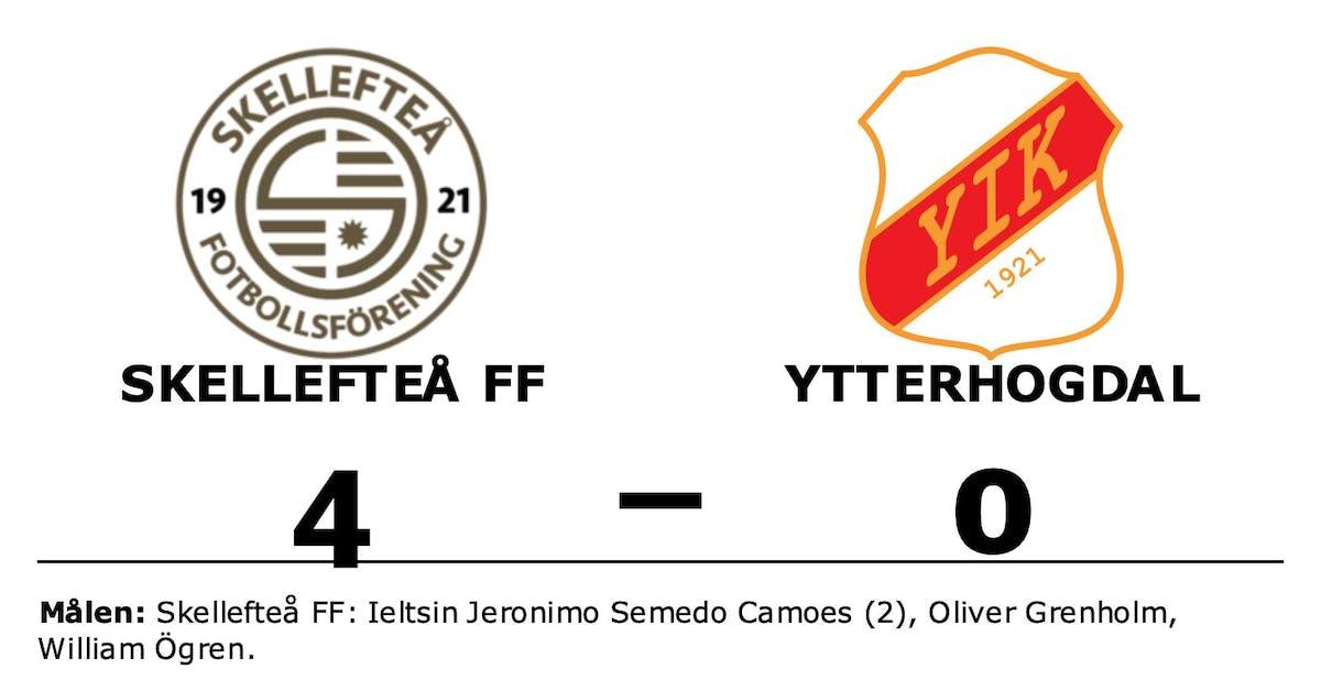 Skellefteå FF vann efter Ieltsin Jeronimo Semedo Camoes dubbel