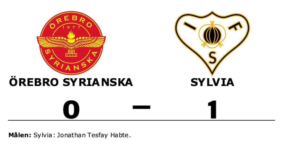 Jonathan Tesfay Habte matchhjälte för Sylvia borta mot Örebro Syrianska
