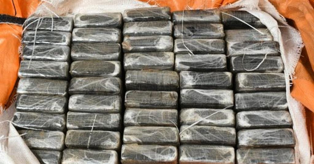 Stort kokainbeslag i Göteborgs hamn