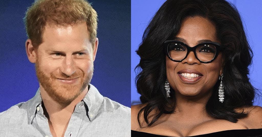 Detta kommer Prins Harrys och Oprahs nya tv-program att handla om