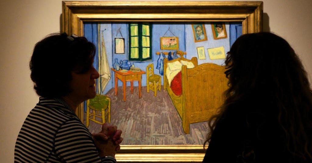 Berömda rum: Vincent van Goghs sovrum
