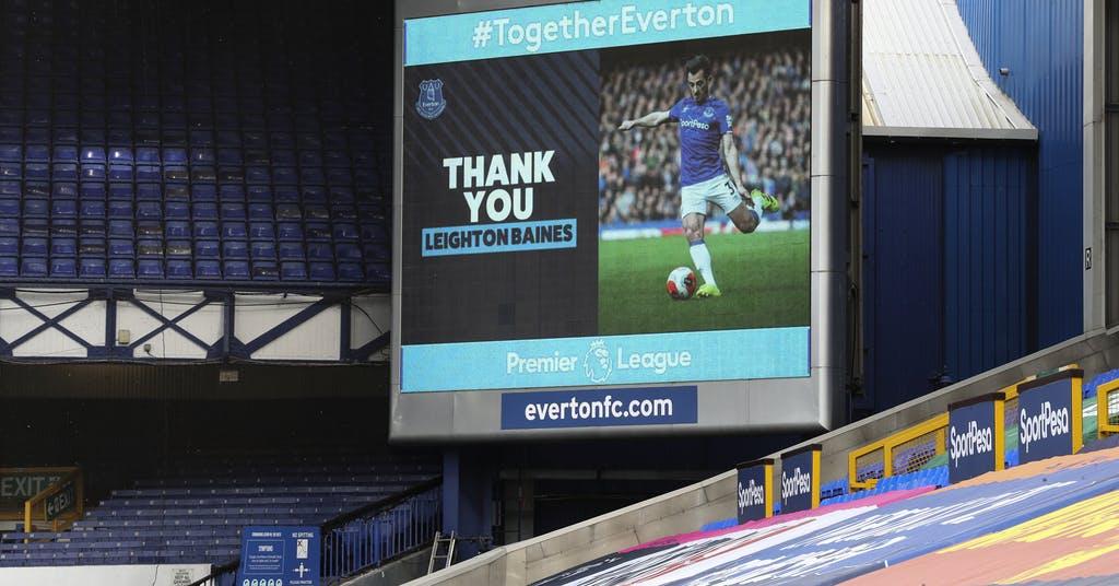 Everton-legendaren Baines avslutar karriären