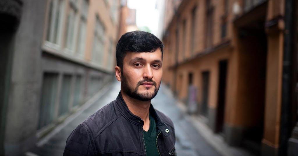 Hans pappa mördades av talibanerna