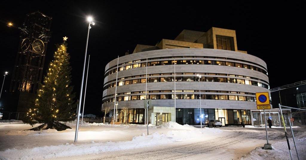 EU möter polarnatten i Kiruna