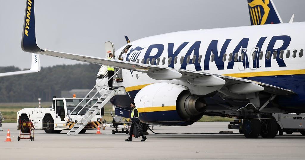 Ryanair struntar i brittiska karantänsregler