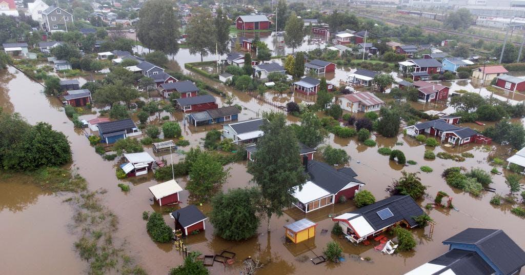 Försäkringsbranschen kräver klimatanpassningar