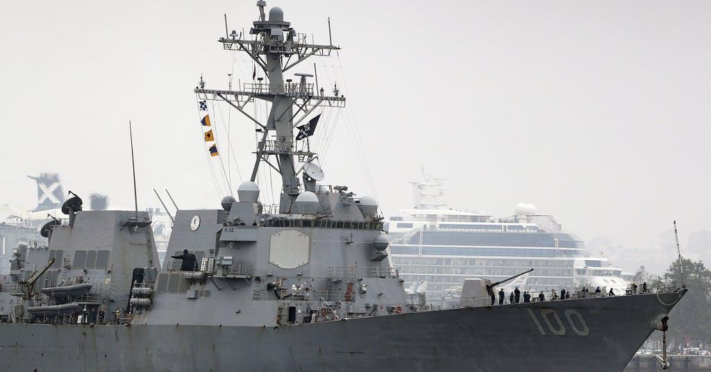 USA skickar flotta till Barents hav