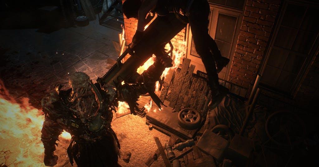 "Nemesis sätter skräck i ""Resident evil 3"""