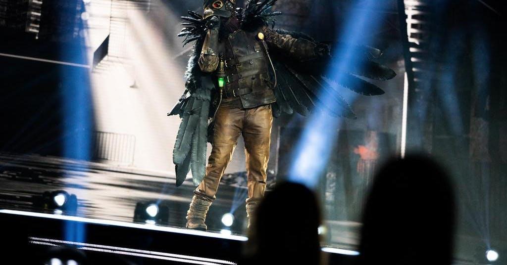 """Korpen"" fick flyga ut ur ""Masked singer"""