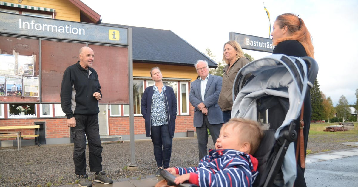 """""""Knyt ihop Norsjö och Skellefteå med tågtrafik"""""""