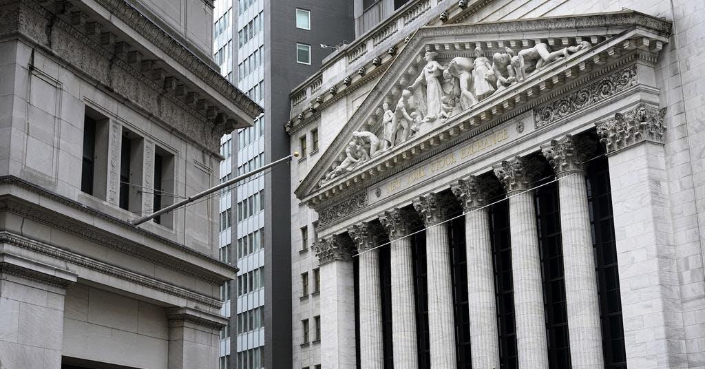 Blandat på Wall Street