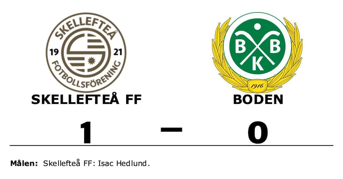 Isac Hedlund matchhjälte för Skellefteå FF mot Boden